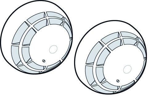 Rauchmelder DORMA RM-N im Contur Design