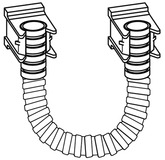 Kabelschutzschlauch 500 DORMA PORTEO