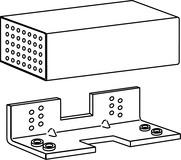Befestigungseinheit für flächenbündige Türen DORMA TV-Z 1xx