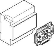 Interface-Modul ePED für Verriegelungen zum Verteilereinbau eff-eff 1386S