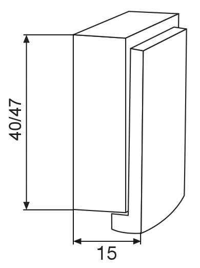 Wand- und Bodentürpuffer EH 5159 WAGNER
