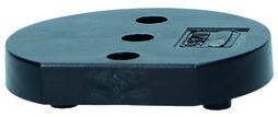 Distanzplatten zu Türpuffer OGRO TZ 5000