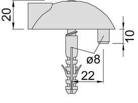 Bodentürpuffer KWS 2003