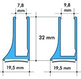 Glasprofile ALUMAT GT 8 / GT 10