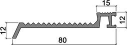 Schwellenprofile HEBGO 167