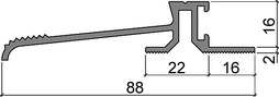 Schwellenprofile HEBGO 160