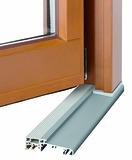 System-Bodenschwelle GU für Haustüren aus Holz