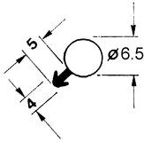 Dichtungsprofile 641-1 Ankernut