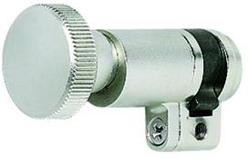 Abschliessknöpfe mit Zylinder-Einsatz MEGA 42.456