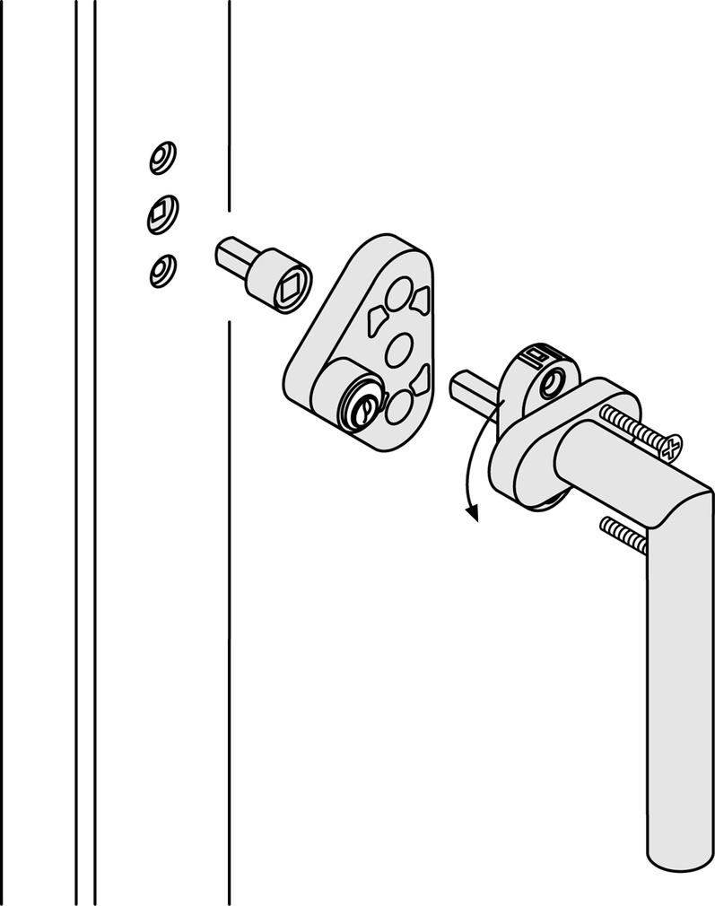 Fenstergriffsicherungen FSB 3407