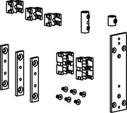 Zubehör-Garnituren für Simsübertragungen passend zu GEZE OL 90 N / OL 95