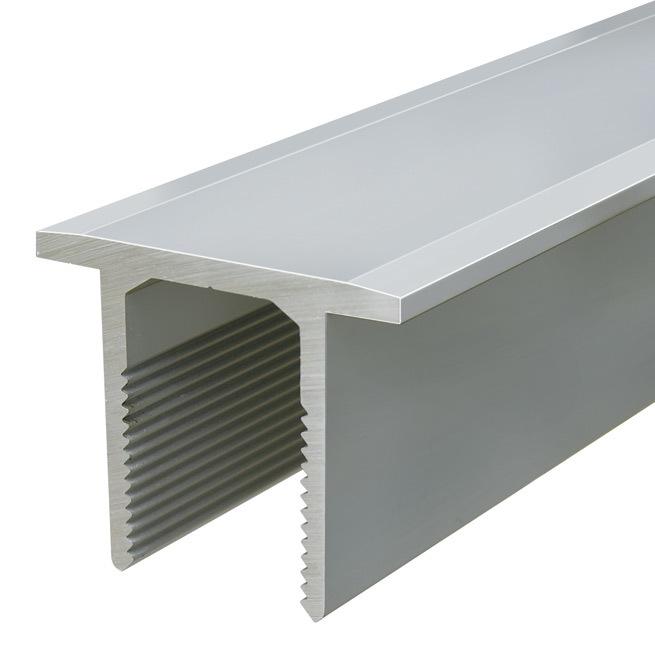 Flacheinsatzprofil PLANET BT 805, 40 mm, auf Mass Art-Nr. 900062