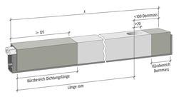 Doppelkürzen PLANET Bohrung 5x13 / d10 / d8, TR125 Art.-Nr. 900390