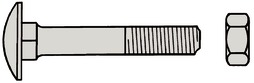 Flachrundschrauben A2 DIN 603