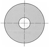 Unterlagsscheiben für Sechskant-Holzschrauben DIN 9021 B