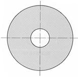 Unterlagsscheiben A2 für Sechskant-Holzschrauben DIN 9021 B