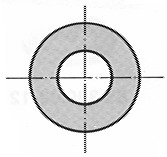 Unterlagsscheiben ohne Fase DIN 125 A