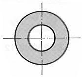 Unterlagsscheiben A2 ohne Fase DIN 125 A