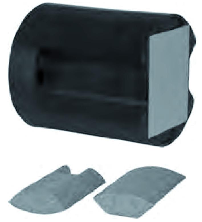 Universalmontageplatten UMP-ALU-TZ (zylindrisch)