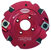 Lamello 132136 Set mit 10 Stück Räumer, zu Nutfräser 8mm 132108