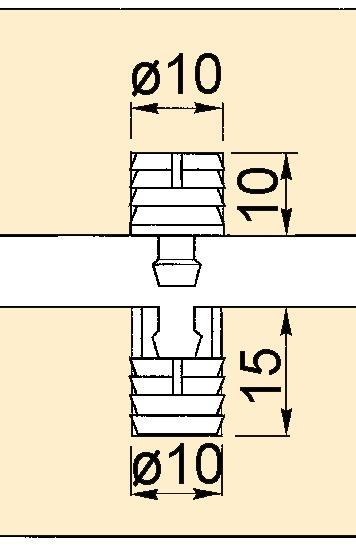 Druckknopf-Verbinder
