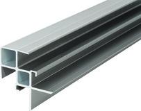 Aluminium-Stufenprofil Alu RELAZZO naturo / coro