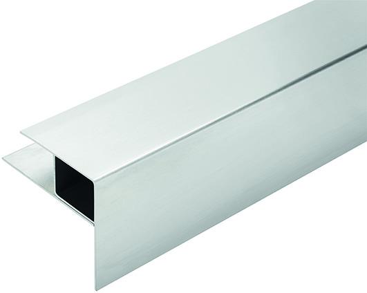 Aluminium-Stufenprofil WPC RELAZZO naturo / coro