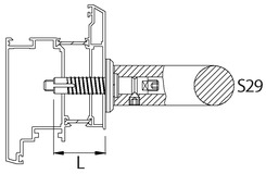 Montageset KWS S 29