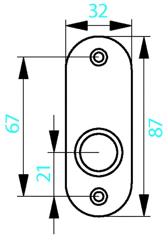 Drückerrosetten AMF 420