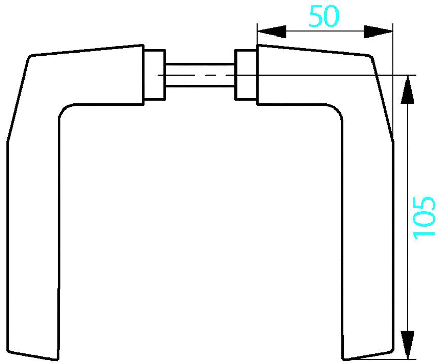 Türdrücker AMF 418