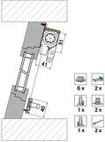 Zubehörset 4034 für Montagevariante 4151 FR5