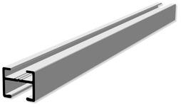Vorhangschienen HAMOTEC VS 57 mit Maxi-Laufnut HM-100