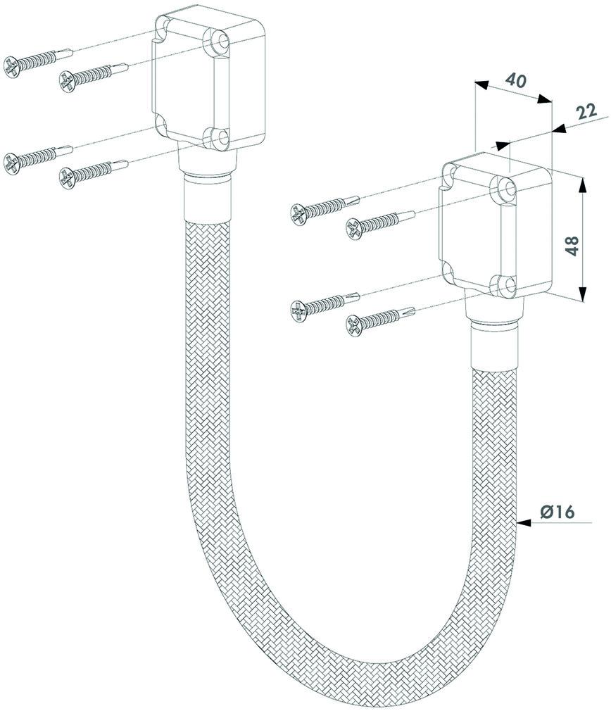 Kabelübergang LOCINOX DVK-HD-450