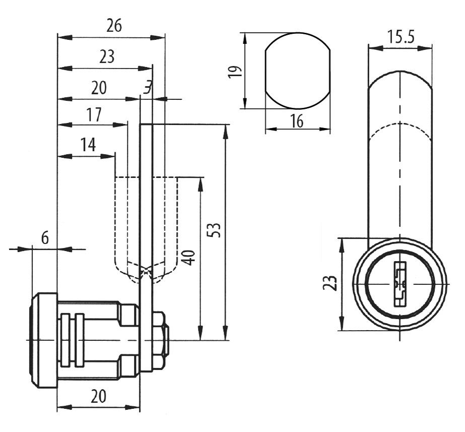 Universalzylinder ZS 85 SB BURG-WÄCHTER