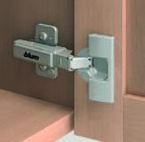 Topfbänder BLUM CLIP top für Profiltüren, Eckband 95 °
