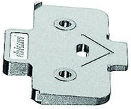 Winkelkeil für Kreuzmontageplatten BLUM +5°