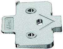 Winkelkeil für Kreuzmontageplatten BLUM -5°