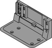 Aufnahmewinkel BLUM SERVO-DRIVE für 1 oder 2 Antriebseinheit, mit Kabel
