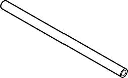 Relingstange BLUM zum Ablängen, Tablarauszug