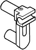 ORGA-LINE Querreling-Aufnahme für zwei Relingstangen