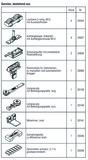 HAWA 25131 HAWA-Frontslide 140/A-Telescopic 2 Teilgarnitur für 2 Schiebeläden, 700 - 1200 mm