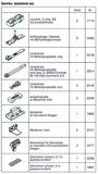 HAWA 25134 HAWA-Frontslide 60/matic-Symmetric 2+2 Teilgarnitur für 4 Schiebeläden