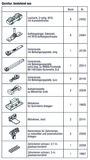 HAWA 25140 HAWA-Frontslide 100/matic-Symmetric 2+2, Teilgarnitur für 4 Schiebeläden