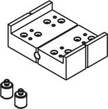 HAWA 27551 Bohrlehre für Scharnierband ø 3mm, zum Schrauben, inkl. Gewindebolzen
