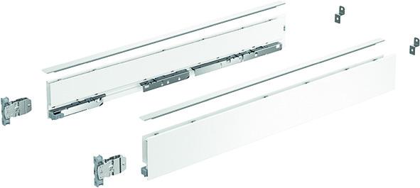 Zargen-Set HETTICH AvanTech YOU Höhe 77 mm, weiss