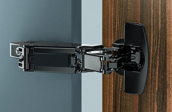 Null-Einsprung-Topfbänder HETTICH Sensys 8657i, Eck- und Mittelband