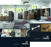 Katalog-Bundle HETTICH Technik und Anwendung/ProDecor 2020