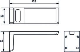 LED Anbauleuchten L&S IILED Angle 12 V