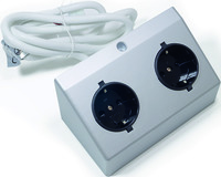 Doppelsteckdosen L&S DE 230 V
