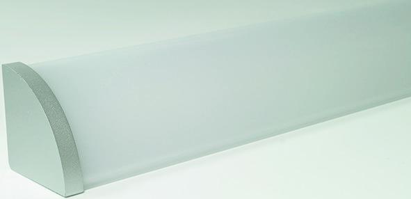 LED Anbauprofile L&S Mini Corner mit opaler Lichtblende